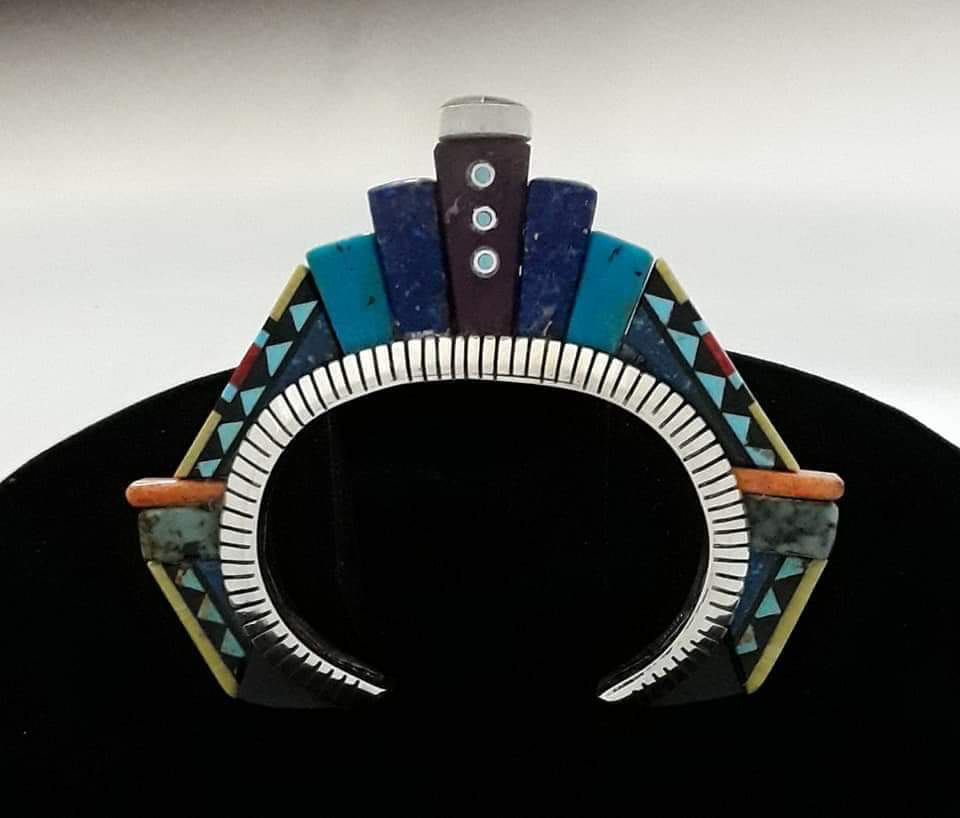 Height Bracelet inspired by Frank Lloyd Wright