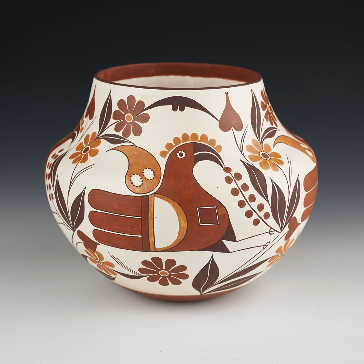 Large Water Jar with Revival Designs (#90316)