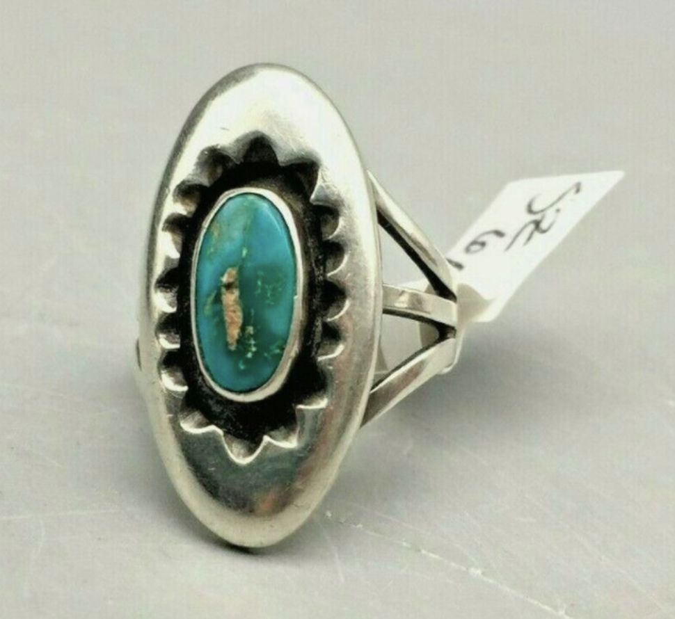 A Highly Sought After Julian Lovato Turquoise Ring