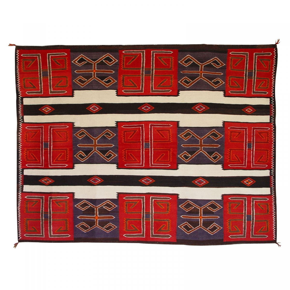 3rd Phase Chief Blanket : Historic : GHT 2126 : Circa 1920-1930's