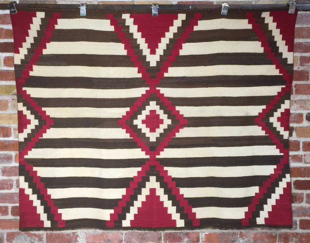 Handwoven Chief's Blanket circa 1930
