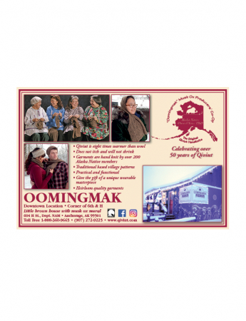 Oomingmak Musk Ox Producers Co-op